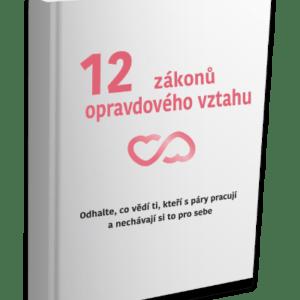 12 zákonů opravdového vztahu, kniha o vztazích