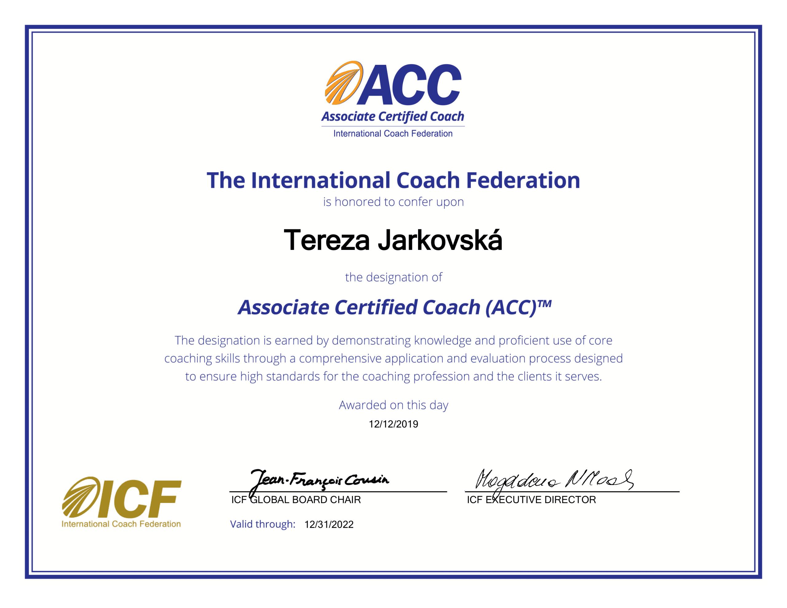 ACC certifikace_Terka